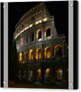 The Colosseum Acrylic Print