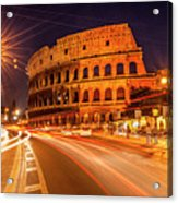 The Colosseum, Rome, Italy Acrylic Print