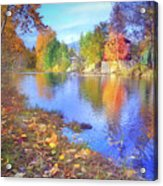 The Colours Of October Acrylic Print