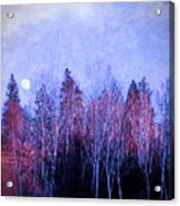 The Colours Of The Moon Acrylic Print