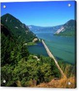 The Columbia Gorge National Scenic Area Acrylic Print