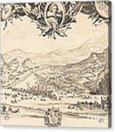 The Combat Of Avigliana Acrylic Print
