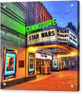 The Commodore Theatre, Portsmouth, Va Acrylic Print