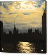 The Commons From South Bank Acrylic Print