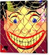 The Coney Smile Acrylic Print