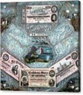 The Confederate Note Memorial  Acrylic Print