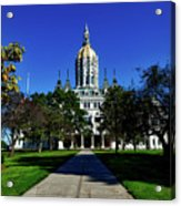 The Connecticut State Capitol Acrylic Print