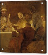 The Conspiracy Of The Batavians Under Claudius Civilis Acrylic Print