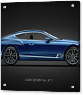 The Continental Gt Acrylic Print