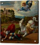The Conversion Of Saint Paul Acrylic Print