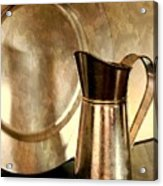 The Copper Pitcher Acrylic Print