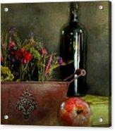 The Copper Planter Acrylic Print