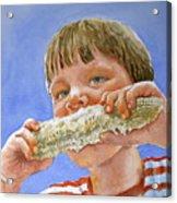 Andrew The Corn Eater Acrylic Print