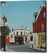 The Corner Note, Dalkey Acrylic Print
