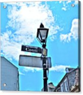 The Corner Of Conti Acrylic Print