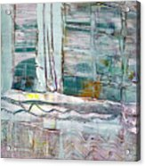 The Corner Window Acrylic Print