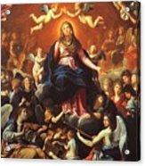 The Coronation Of The Virgin 1626 Acrylic Print