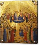 The Coronation Of The Virgin Acrylic Print