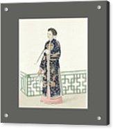 The Costume Of China Acrylic Print
