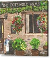 The Cotswold Arms Acrylic Print