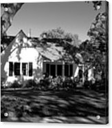 The Cottage House Acrylic Print