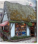 The Cottage Of Sweets - Carmel Acrylic Print