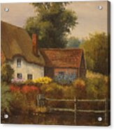 The Country Cottage Acrylic Print