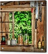 The Country Kitchen Acrylic Print
