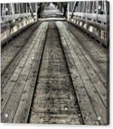The Covered Bridge Acrylic Print