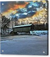 The Covered Bridge Acrylic Print