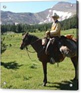 The Cowboy #5 Acrylic Print