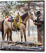 The Cowboy Way Acrylic Print