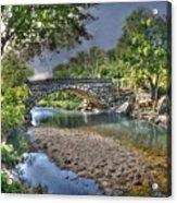 The Crabb Creek Bridge Acrylic Print