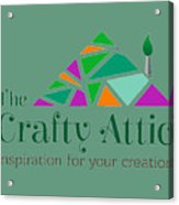 The Crafty Attic Acrylic Print