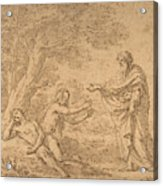 The Creation Of Eve  Acrylic Print