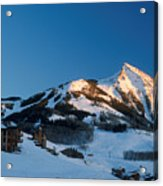 The Crested Butte Acrylic Print