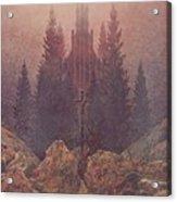 The Cross In The Mountains 1812  By Caspar David Friedrich 1774-1840 Acrylic Print
