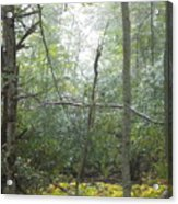 The Cross In The Woods Acrylic Print