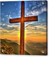 The Cross The Choice Pretty Place Chapel Greenville South Carolina Art Acrylic Print