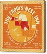 The Crow's Nest Inn Acrylic Print