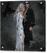 The Crows Wedding Acrylic Print