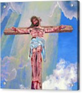 The Crucifixion Day Acrylic Print