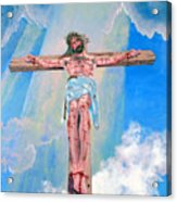 The Crucifixion Daytime Acrylic Print