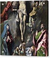 The Crucifixion Acrylic Print