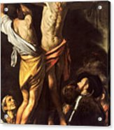The Crucifixion Of Saint Andrew Acrylic Print