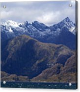 The Cuillin Mountains Isle Of Skye Acrylic Print
