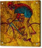 The Cyclist Acrylic Print