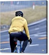 The Cyclist Acrylic Print