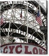 The Cyclone At Coney Island Acrylic Print