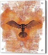 The Da Vinci Flying Machine Acrylic Print